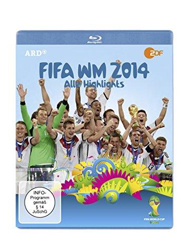 FIFA WM 2014 - Alle Highlights [Blu-ray]