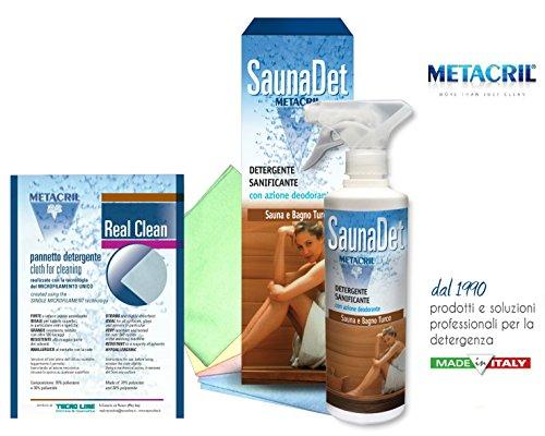 Nettoyant et nettoyant pour sauna à base végétale – saunadet 500 ml Expédition immédiate
