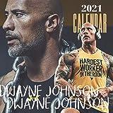 Dwayne Johnson: 2021-2022 Calendar - 12 months - 8.5 x 8.5 glossy paper