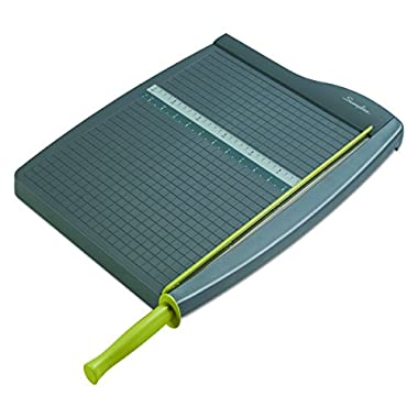 Swingline Paper Trimmer/Cutter, Guillotine, 15  Cut Length, 10 Sheets Capacity, ClassicCut Lite (9315)