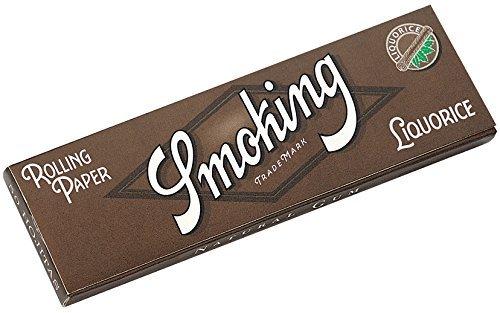 [smoking]スモーキング シングル リコリス ペーパー 50枚入り×10 手巻きタバコ 手巻き
