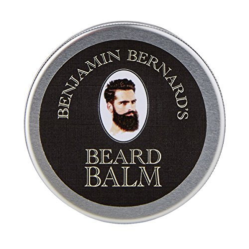 Bartbalsam für Männer zur Bartpflege - Bartpomade - Beard Balm von Benjamin Bernard - Fördert gesundes Bartwachstum - mit Bartwachs den Bart dauerhaft formen - 100 ml