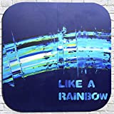 Rainbroke 111 · Díptico (dos piezas) Festival de alegria, positividad y energía en acrílico sobre madera