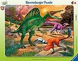 Frame Puzzle Spinosaurus 42 pcs 05094 Frame puzzle age +4