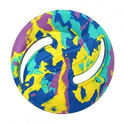 Placa de EVA, Eva Flying Discs Deportes acuáticos Playa Flying Disc Wave Disco de gravedad Boomerang Outdoor Pets Training Toy Deportes al aire libre (4 colores)