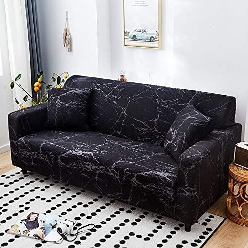 WXQY Geometrisches Muster elastische Sofabezug elastische L-förmige Ecksofabezug Kombination staubdichte rutschfeste Sofabezug A24 4-Sitzer