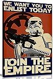 Bild/Druck auf Leinwand mit Motiv von Star Wars (Krieg der Sterne), Propaganda Enlist Join The...