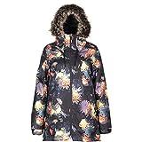 L1 Premium Goods Fairbanks Chaqueta De Snowboard para Mujer, Bloom, S