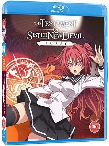 Anime Ltd - Testament Of Sister New Devil Burst Blu-Ray (1 BLU-RAY)