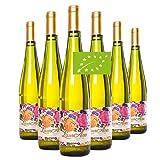 LaurAna Verdejo Ecológico - Vino Blanco Orgánico - Vino de la Tierra de Castilla- 6 botellas x 750 ml