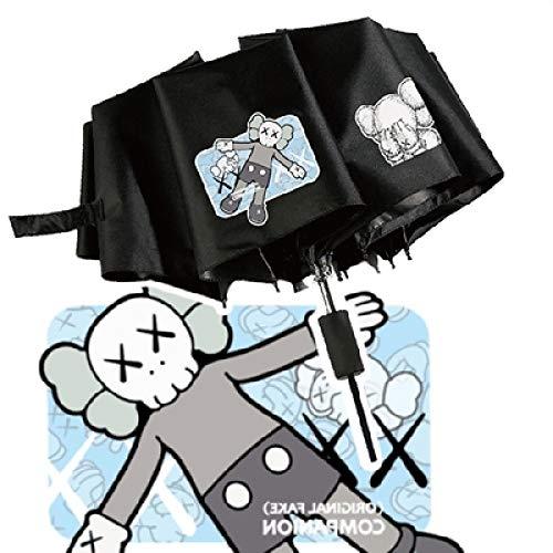 Muñeco marea paraguas xx hombres y mujeres creativos personalidad Estrella paraguas protección solar mareas seltsame paraguas Sésamo calle 100 cm XX-1 pantalla de gel