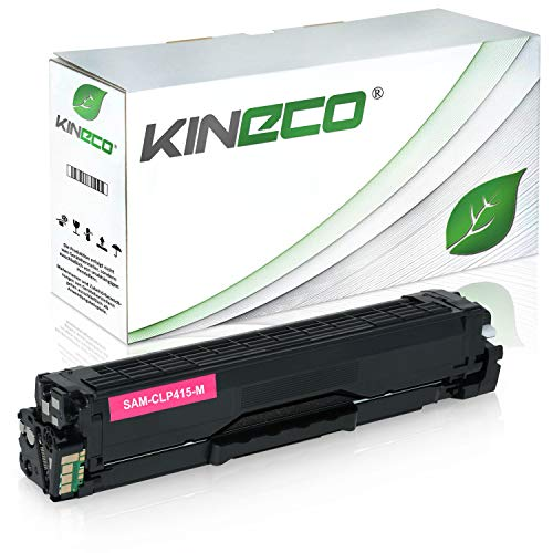 Toner kompatibel zu Samsung CLP-415 CLP415 für Samsung Xpress C1810W/SEE, Xpress C1860FW/XEC, CLP-415N/XEC, CLP-415NW/XEG - CLT-M504S/ELS - Magenta 1.800 Seiten