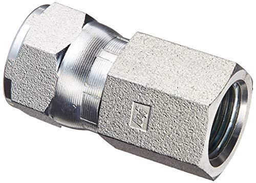 6506-06-04 Hydraulic Fitting 3/8' Female JIC Swivel X 1/4' Female Pipe Carbon Steel