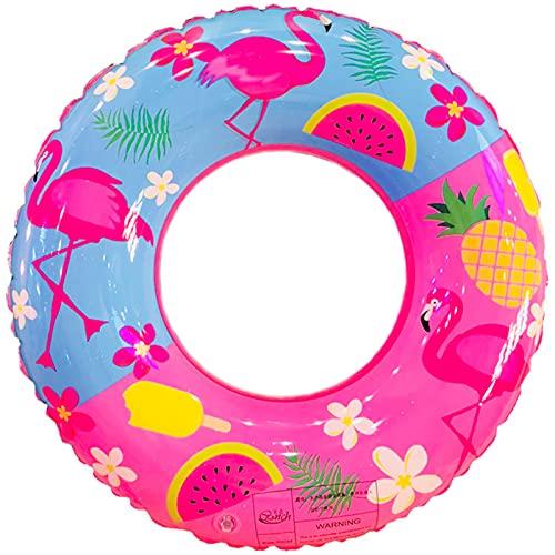Vaupan Inflatable Pool Float, Swim Ring for Kids Pool Tube Toys , Flamingo...