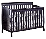 Dream On Me Ashton 5-in-1 Convertible Crib in Navy, Greenguard Gold Certified