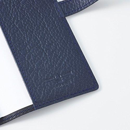 クオバディス手帳本革カバーTaurillonトリオン10x15cmマリンqv10x1520ma
