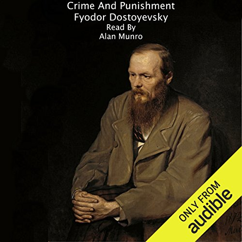 Crime and Punishment [Trout Lake Media Edition]                   De :                                                                                                                                 Fyodor Dostoyevsky                               Lu par :                                                                                                                                 Alan Munro                      Durée : 25 h et 4 min     Pas de notations     Global 0,0