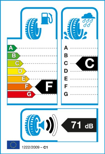 Milestone 155/70 R13–70/155/R13 75t – F/C/71db – Pneus toutes saisons (Passenger Car)