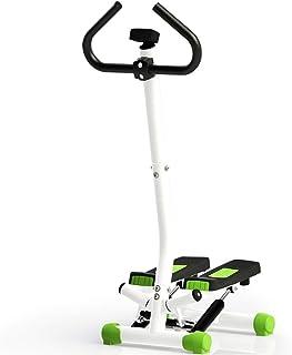 ZIEO Paso a Paso Reposabrazos Paso A Paso Inicio Multifunción Fitness Equipment Antideslizante Firma Verde Steppers (Color...