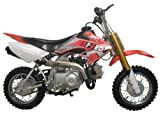Dirt bike 70cc Semi Automatic, Red