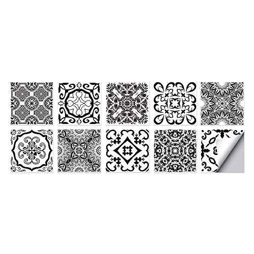 Pegatinas De Azulejos De Pared Impermeables Y Engrosado Baño De Cocina Delgada Base De Vinilo Transferencia De Ladrillo Pegatinas 15*15CM workid-R007