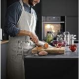 WMF Kineo Messerblock mit Messerset 6-teilig, 4 Messer geschmiedet, Wetzstahl, Bambus-Block, Performance Cut, Spezialklingenstahl, Silber - 2