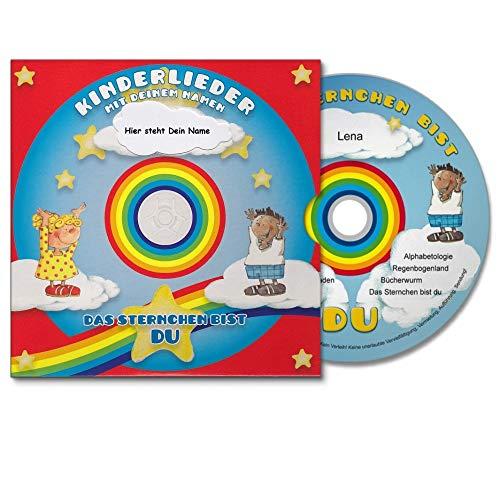 Das Sternchen bist Du - personalisierte Kinderlieder CD zum Mitsingen und Tanzen