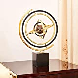 YANG1MN Simple Globe Ornaments Creative Home Decorations Bar Office Desktop Study Modern Furnishings (32 44CM)