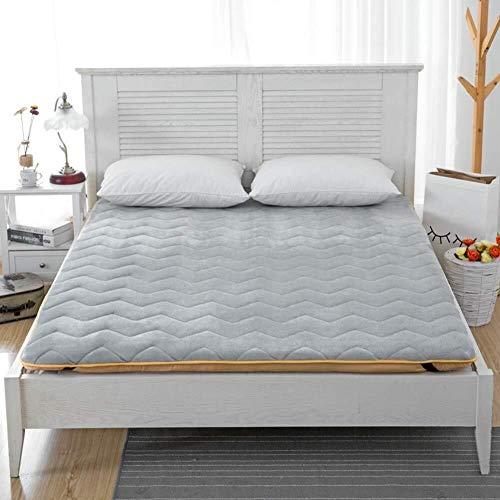 Tatami-matras, opvouwbaar, comfortabel, ademend, dikke matrasbeschermer, draagbaar, Japanisch, zacht, camping, dubbel, eenvoudig Twin-90x200cm(35x79inch) D