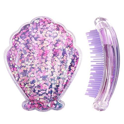 Mermaid Detangling Hair Brush, Luxspire Christmas Hair Brush for Girls...