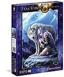Clementoni- Anne Stokes Puzzle Protector, 1000 Pezzi, 39465