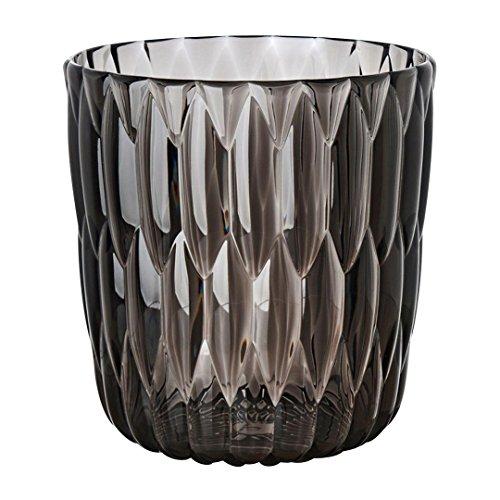 Kartell Jelly Vase, grau glänzend Ø23.5cm H 25cm