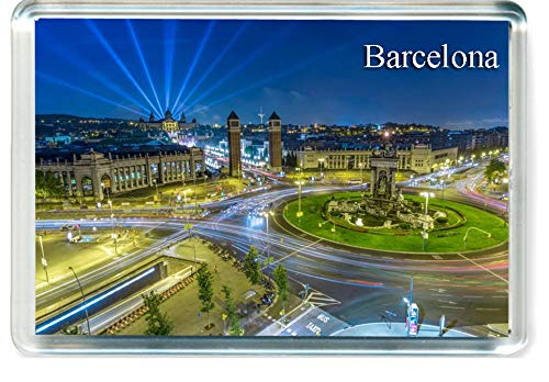 H229 Barcelona Imán para Nevera Spain Travel Fridge Magnet