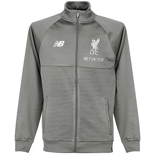 New Balance FC Liverpool Elite Trainingsjacke Herren grau/weiß, S