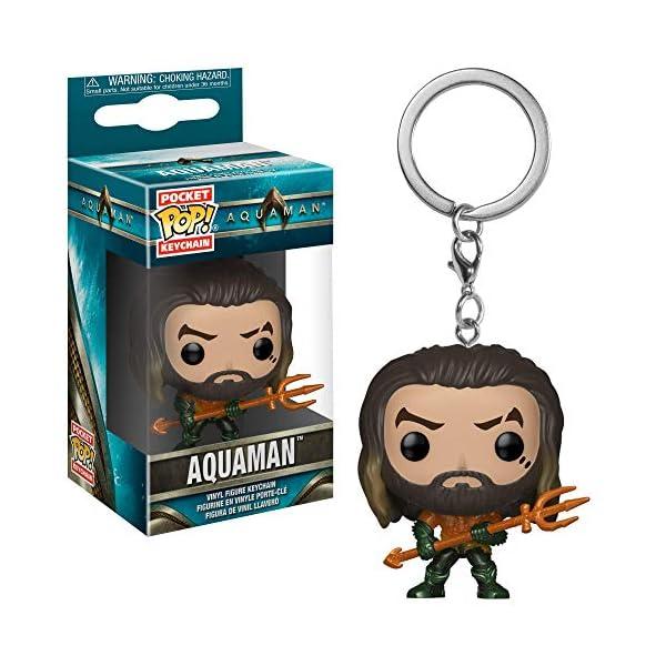 Funko 31191 Pocket POP Keychain: Aquaman: Arthur Curry as Gladiator 2