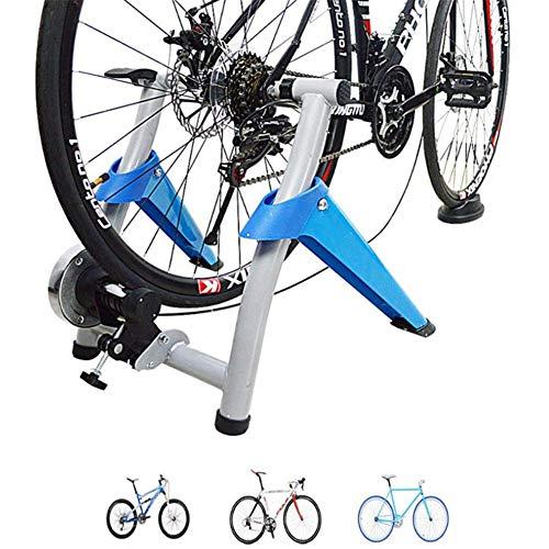 YLEI Home Trainer Simulateur de vélo Entraîneur vélo Turbo Magnetic Bike Home Trainer VTT Route...