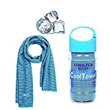 VAKKI Cooling Towel, Ice Cold Sports Sweat Towel for Instant Relief perfect