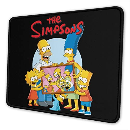 The-Simpsons Mouse Pad Mouse Pad Home Office Computer Gaming Mouse Pad 7.9 X 9.5 in