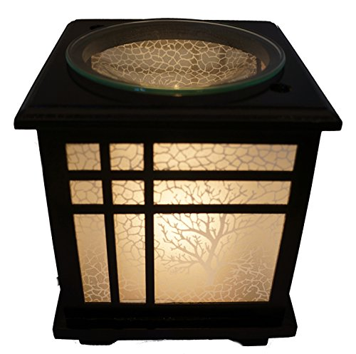 Coo Candle Electric Candle Wax Melt Warmer or Oil Burner Lamp Combo - Bonsai (1)