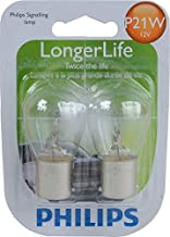 Philips 12498LLB2 P21WLLB2 Longer Life Mini Bulb