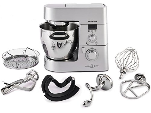 Kenwood KM098 Cooking Chef Impastatrice Planetaria, con Frullatore, Food Processor e Bilancia