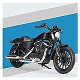 1:18 para Sportster Iron 883 Alloy Plastic Diecast Motorycle Modelo De Juguete (Color : 2)