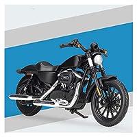ダイキャストモデルモーターサイクル 1:18 に適用するSportster Iron883合金プラスチックダイキャストオートバイモデル玩具 (Color : 2)