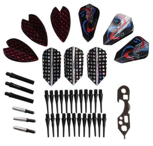 Halex Accessories & Tune Up Kit for Soft Tip Darts