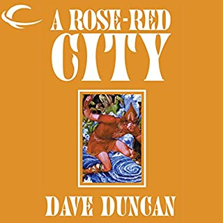 A Rose-Red City cover art