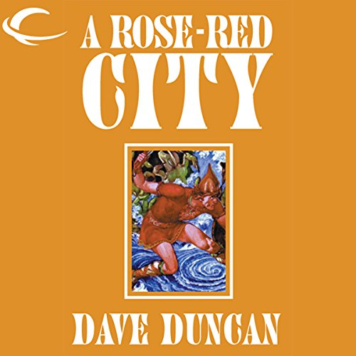 A Rose-Red City audiobook cover art