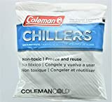 Coleman Cold Chillers Non Toxic Freeze and Reuse Beverage and Food Soft Reusable Ice Cube Chiller Substitute for Coolers, Large