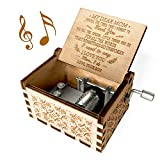 You are My Sunshine Music Box, Gift for Mom from Son, Wood Laser Engraved Vintage Music Boxes, Unique Best Gift for Mother's Day, Birthday/Christmas (Son to Mom)