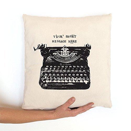 Cojín máquina de escribir