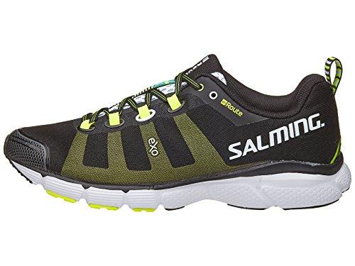 Salming Herren Laufschuh Natural Running Schuh Neutralschuh Orange / Schwarz enRoute - 1287043 (41 1/3 EU, Schwarz)